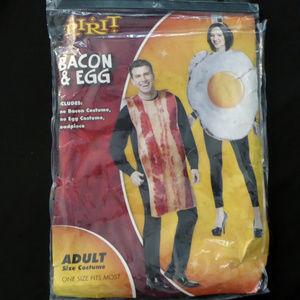 BACON & EGG COSTUME COUPLES HALLOWEEN